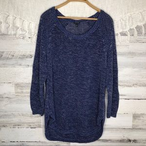 Torrid open knit sweater